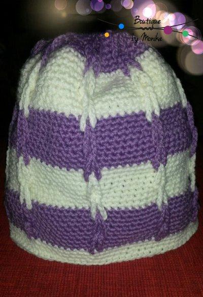 Cappellino bimba con le catenelle