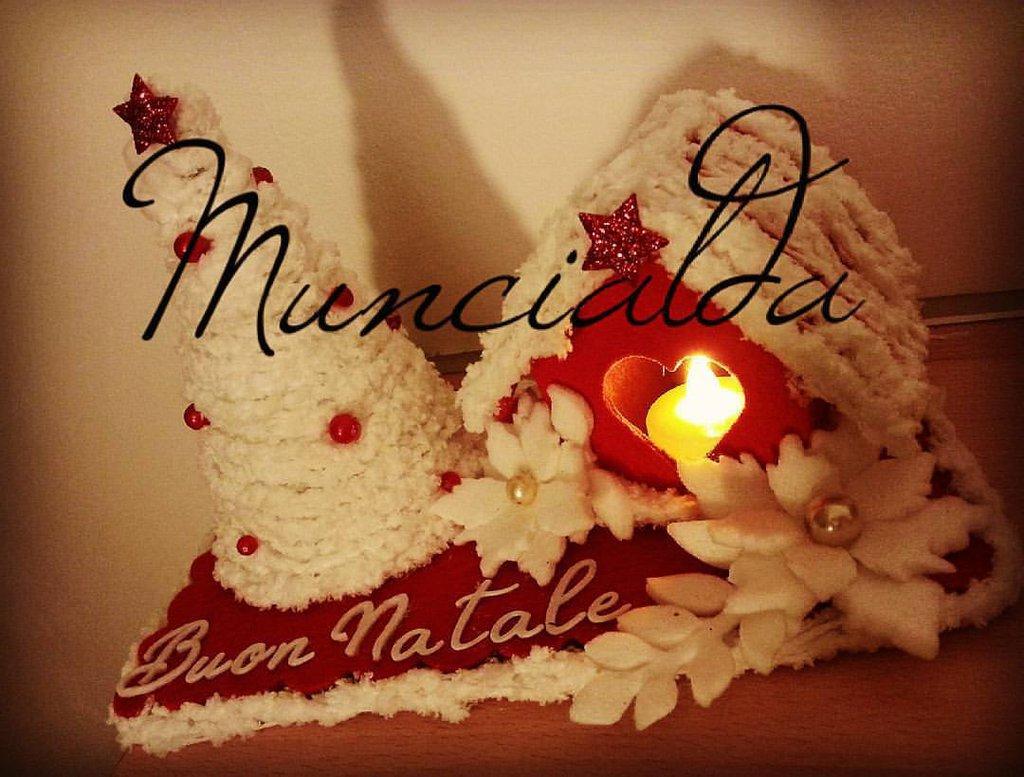 Decorazione natalizia, Casetta in feltro