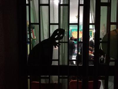Sagome mostri finestre Halloween