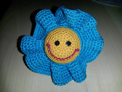 Fiore all' uncinetto