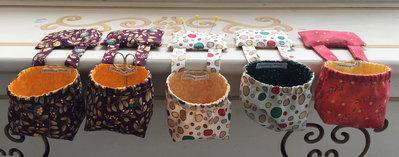 sacchetto raccogli fili per chi cuce