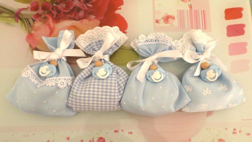 Estremamente BOMBONIERA completa DELUXE - battesimo nascita Compleanno - CIUCCI  TI16