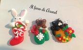 Decorazioni e ciondoli natalizi
