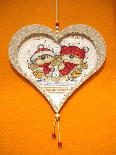 """Decorazione Natalizia Cuore """"Buon Natale"""" Fizzy Moon"""
