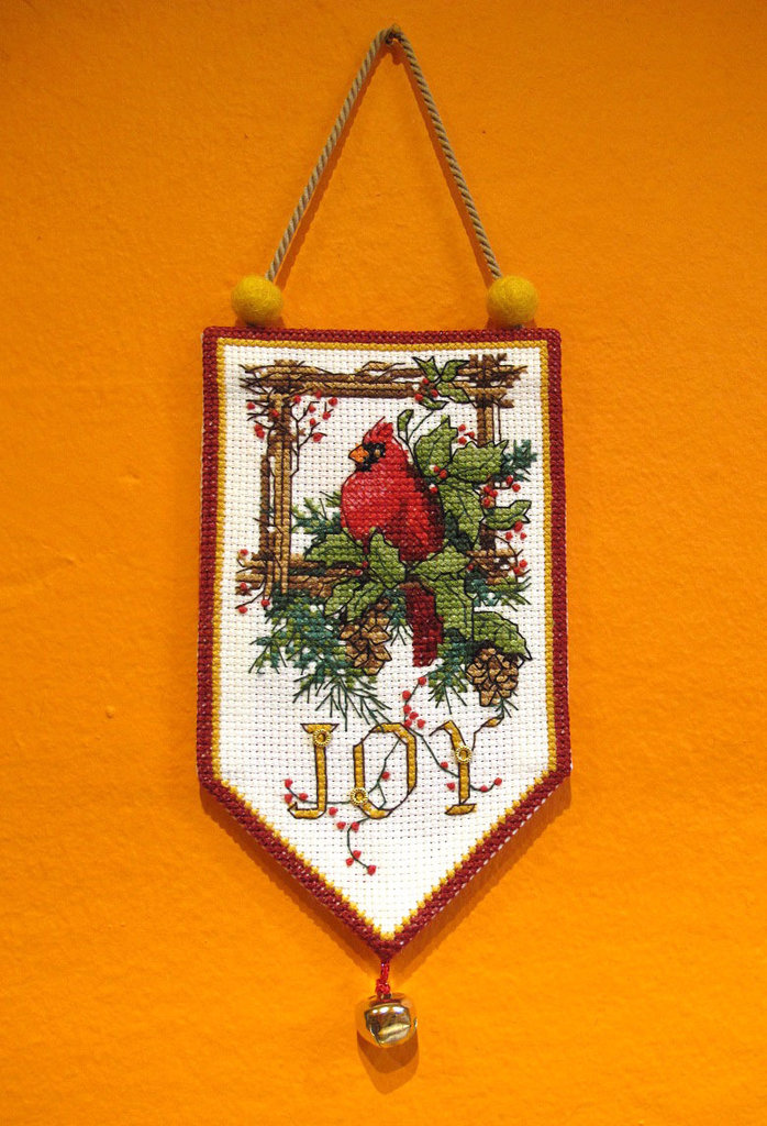 "Decorazione Natalizia Addobbo ""JOY"""
