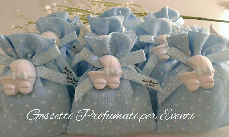 Estremamente Sacchetto nascita con gessetto - Feste - Bomboniere - di Gessetti  LN96