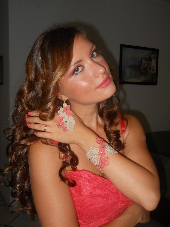 Inserzione per Agata :bracciale e orecchini