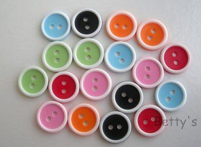 Bottoni bicolore