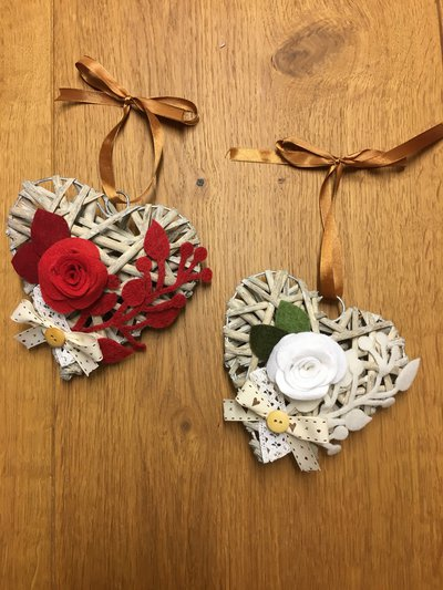 Cuore shabby e big shot