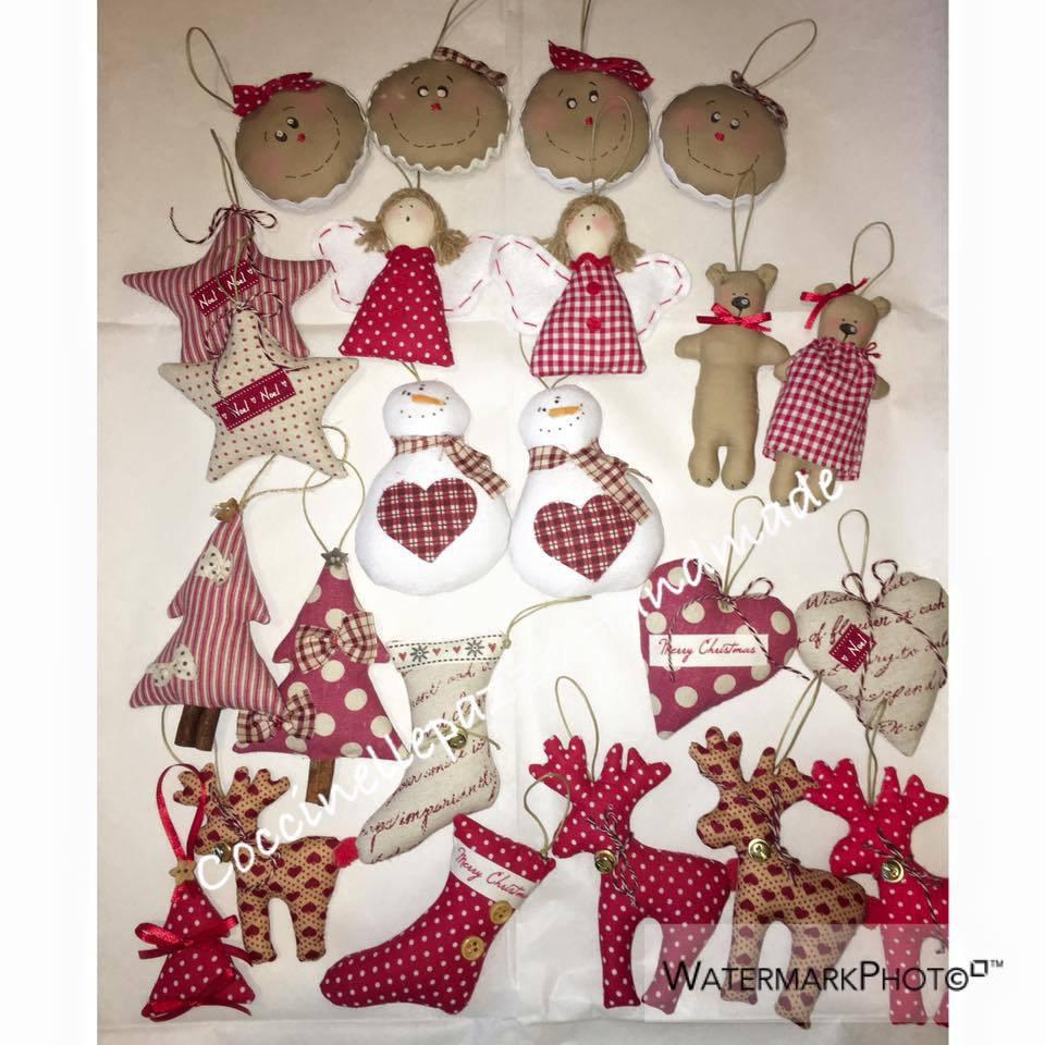 Decorazioni natalizie da regalare o da appendere all for Decorazioni da tavolo natalizie