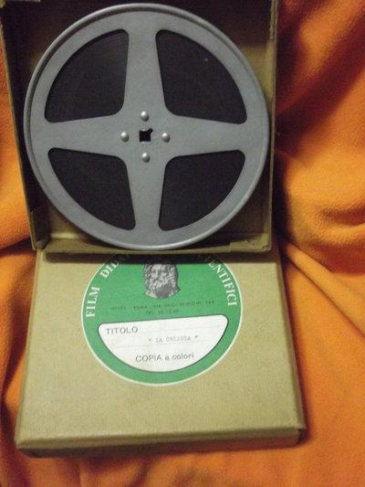 pellicola anni 70 vintage LA CELLULA- didattica come nuova