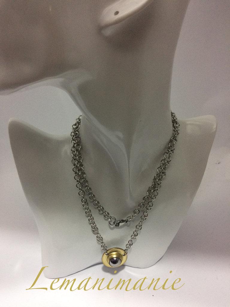 #collana #catena #ciondolo #pallarotante
