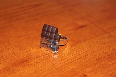 anello barretta di cioccolata