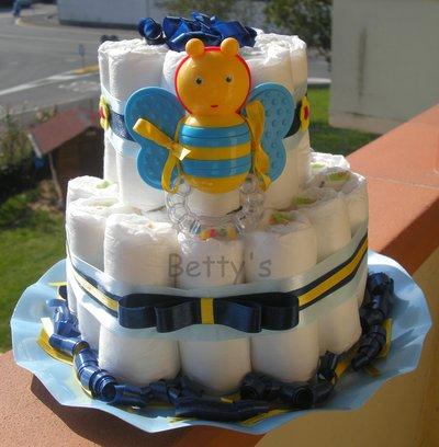 Torta di pannolini - BOY