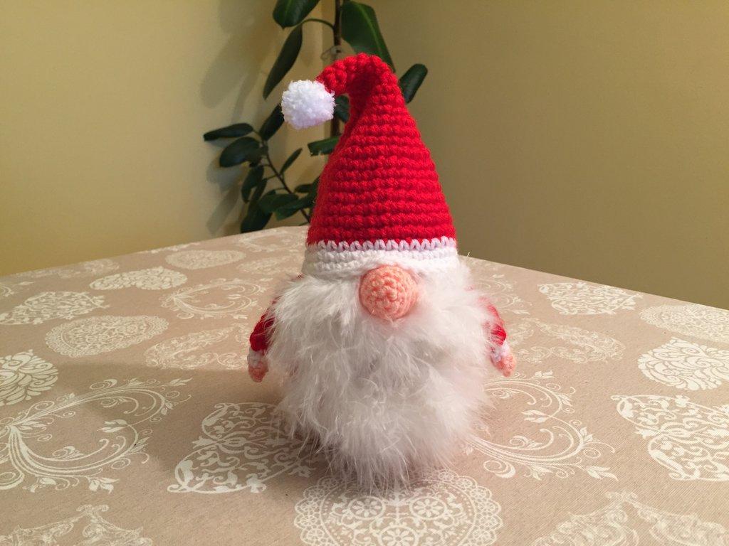 Gnometta amigurumi crochet doll natalizia gnomo foletta folletto ... | 768x1024