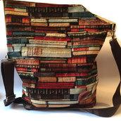 borsa fatta a mano, in pesante tessuto originalissimo
