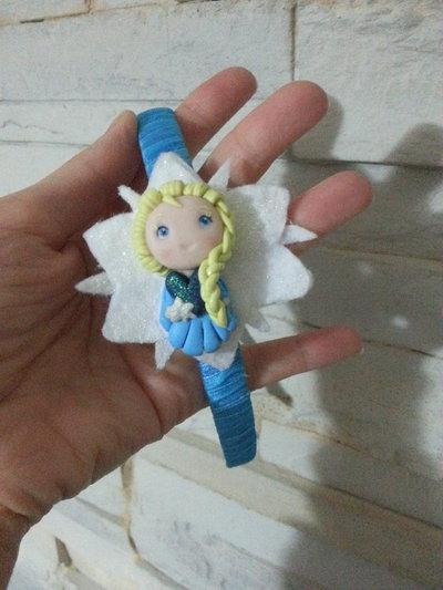 Riservata- cerchietto Elsa Frozen