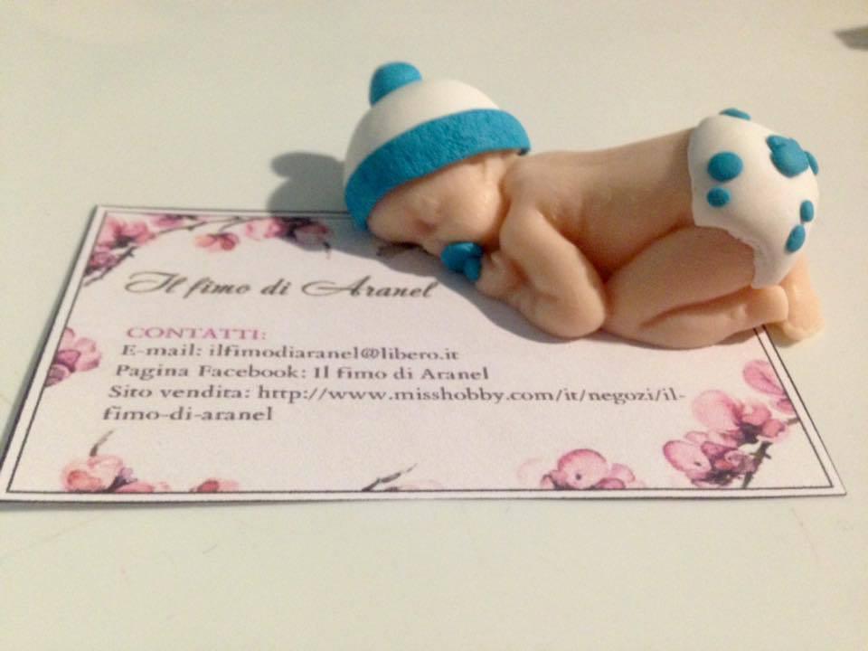 Statuetta neonato che dorme