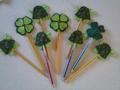 matite con decorazioni