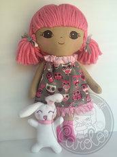 Bambola personalizzata realizzata a mano