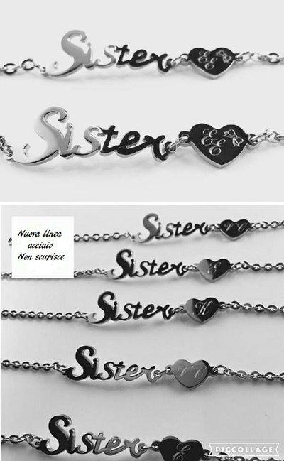 Bracciale acciaio Sister