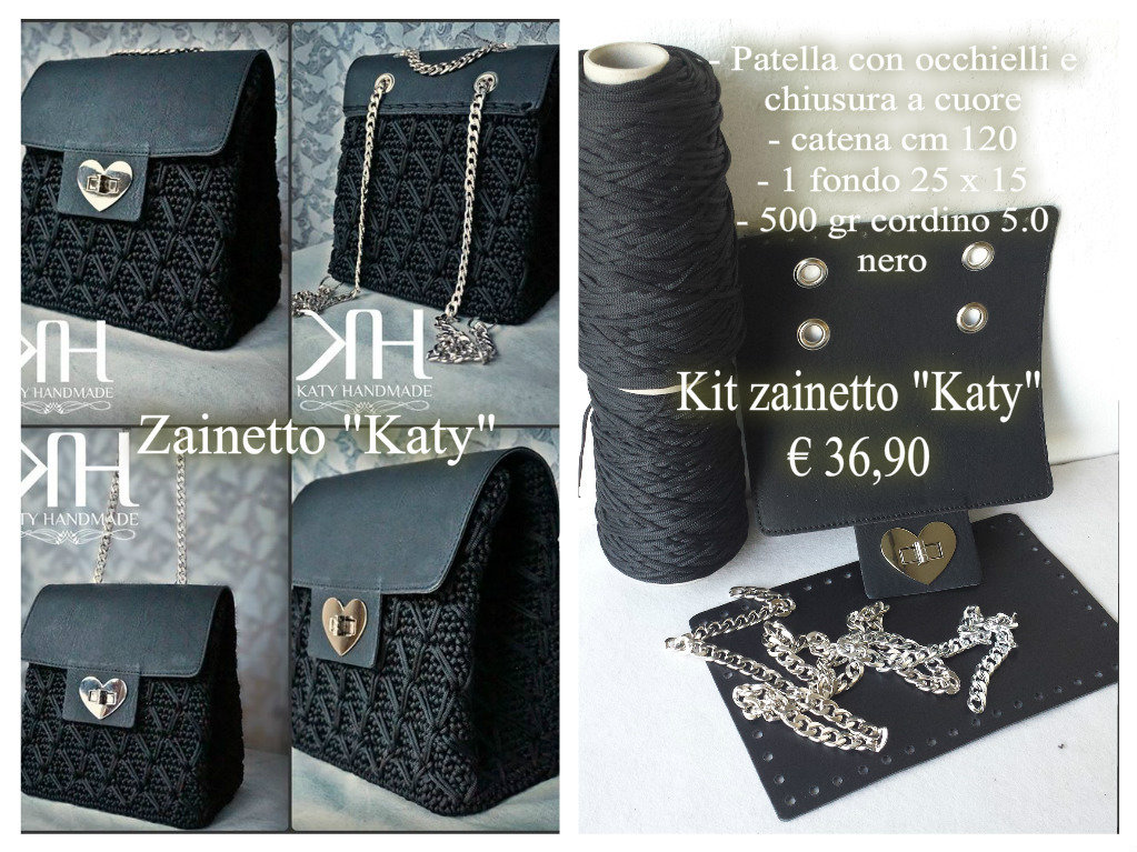 "Kit zainetto ""Katy"""