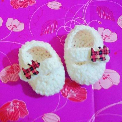 Scarpette scarpine neonato uncinetto regalo NATALE