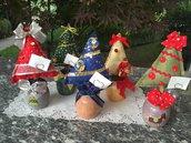 Natale - Alberelli segnaposto
