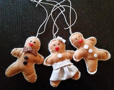 Set decorazioni pan di zenzero