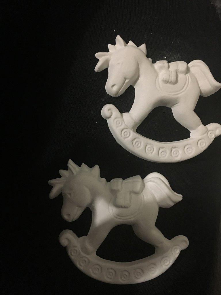 Gessetti profumati cavallo a dondolo