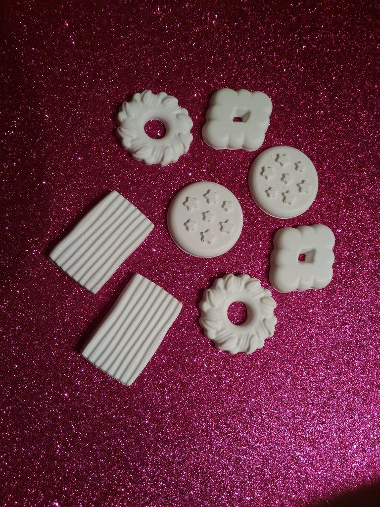 Set gessetti in polvere di ceramica