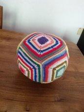 Palla colorata con campanellina interna