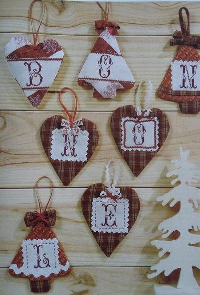 Decori albero di Natale - Segnaposto o addobbi natalizi personalizzati