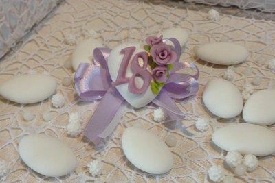 Confezione confetti decorato segnaposto