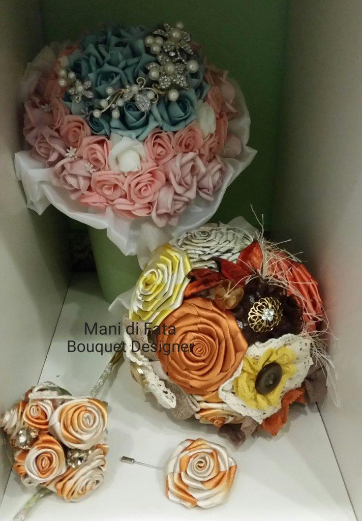Bouquet gioiello di peonie