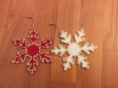 Due stelle Natale chiudi pacco