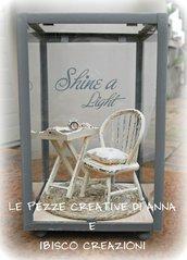 Lanterna decorativa con miniature - Angolo relax