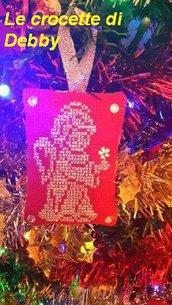 cuscinetto natalizio decorazione albero