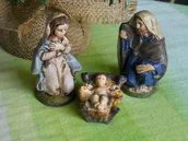 Natività in ceramica. Presepe. Le ceramiche di Ketty Messina