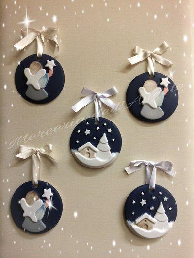 DecoraZioni natalizie ceramica