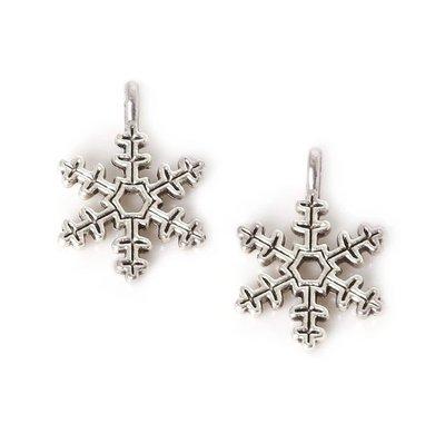 NATALE CREATIVO charm a forma di fiocco di neve
