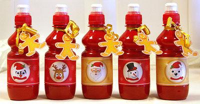Set Tags (Gingerbread) e Rotulei per Bottiglie - Natale