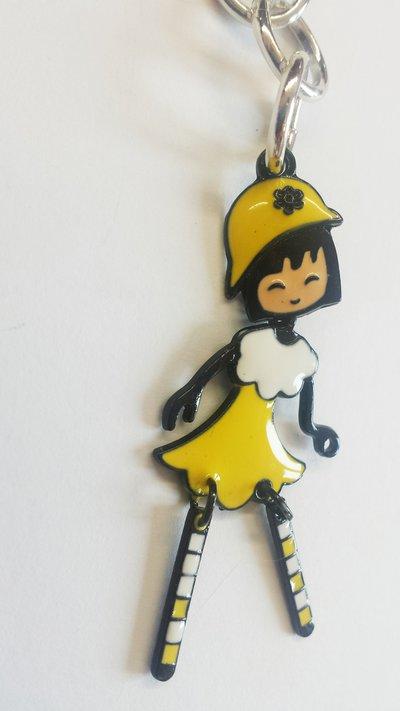collana con bambolina