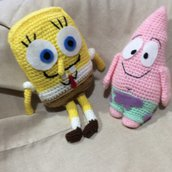 Patrick e spoongebob