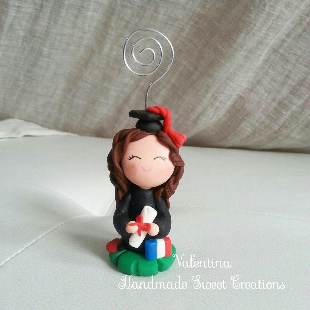 Bomboniera bambolina laurea