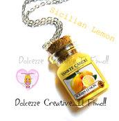 Collana Candela - Yankee Candle HANDMADE Sicilian Lemon idea regalo