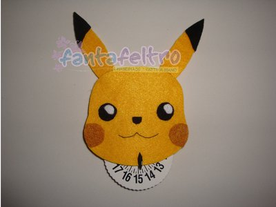 Disco Orario Pokémon Pikachu Idea Regalo