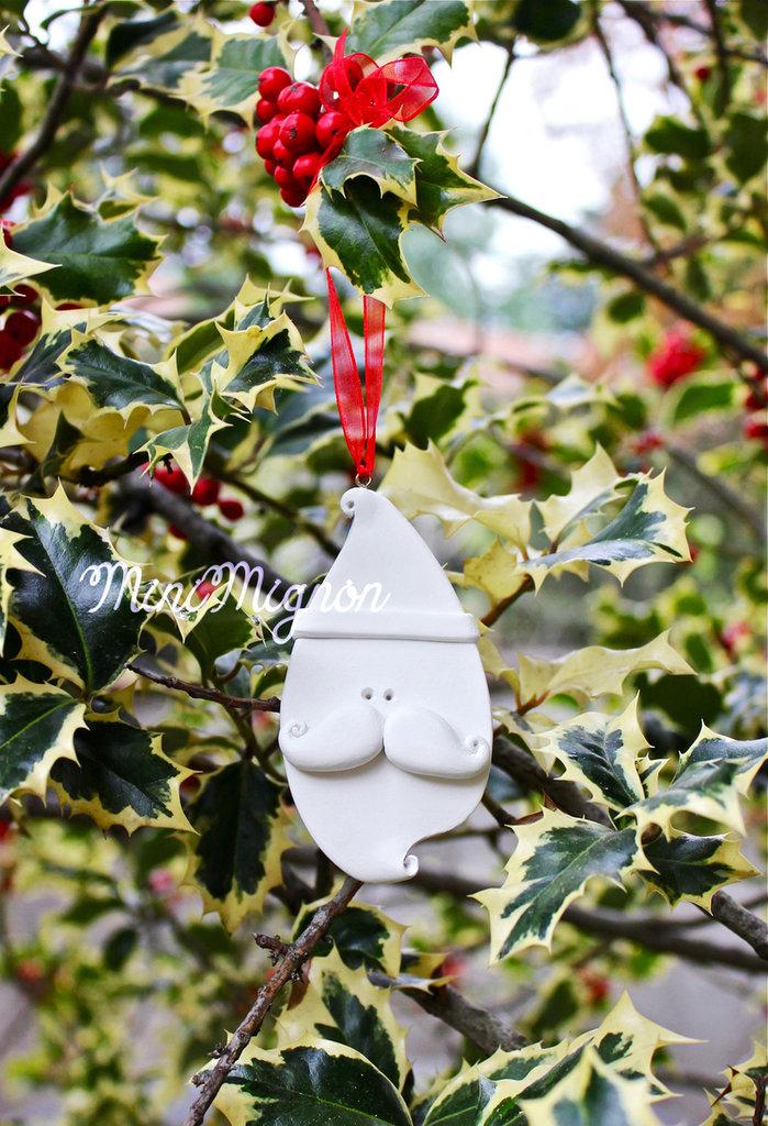 Decorazione natalizia a forma di Babbo Natale