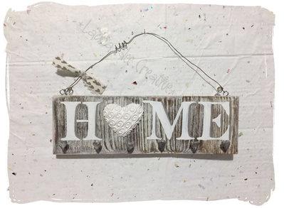 Pareti In Legno Shabby : Portachiavi shabby da parete in legno: idea regalo per natale per