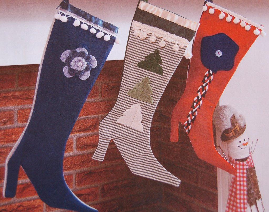 Calza Befana Tacco Alto - Natale, con decorazioni personalizzate Bimba